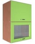 Шкаф В-500 2 газ с 1 стеклом Размер 500x300x720