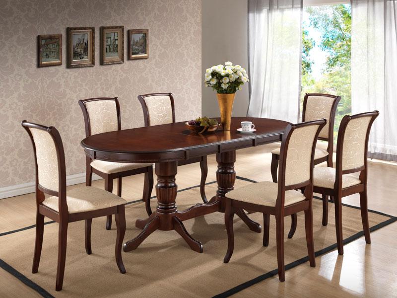 Комплект стол DM-T6EX2, стулья MN-SC, 6 шт