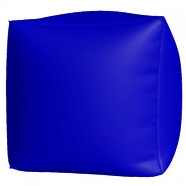 Пуфик Куб макси синий