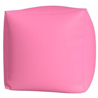 Пуфик Куб макси розовый