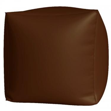 Пуфик Куб макси коричневый