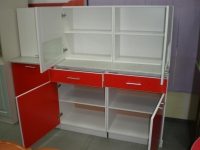 Кухонный гарнитур Венеция чили 1,8 м