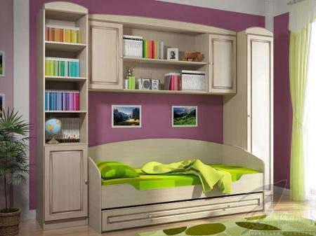 Кровать Мийа 3 Патина